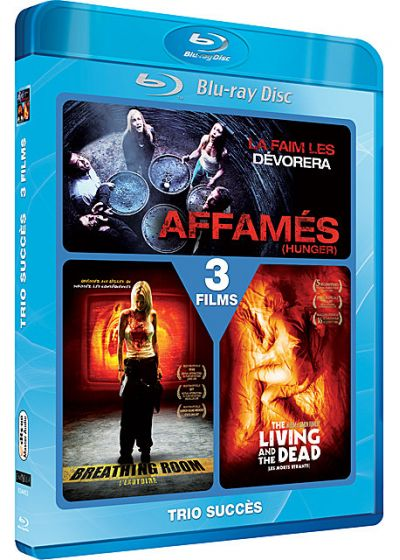 Affamés (Hunger) + Breathing Room + The Living and the Dead - Blu-ray