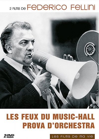 Federico Fellini : Les feux du music-hall + Prova d'orchestra (Pack) - DVD