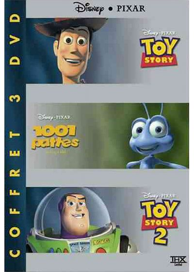 Coffret Pixar - Toy Story + 1001 pattes + Toy Story 2 - DVD