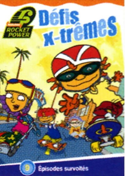 Rocket Power - Défis x-trêmes - DVD