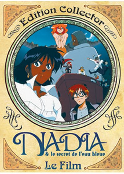 Nadia & le secret de l'eau bleue - Le film (Édition Collector) - DVD