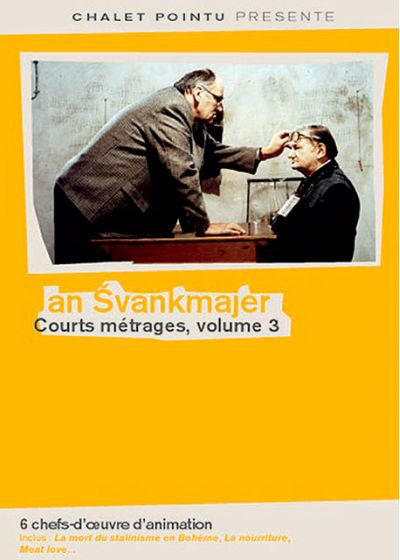 Jan Svankmajer : Courts-métrages - Vo. 3 - DVD