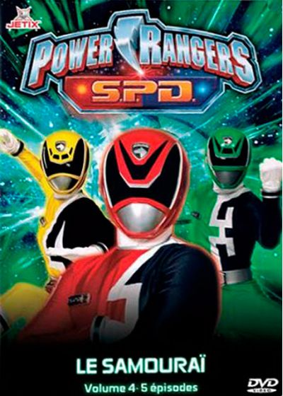 Power Rangers S.P.D. - Vol. 4 - DVD