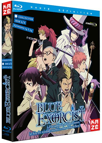 Blue Exorcist - Partie 2/2 (Édition Collector) - Blu-ray
