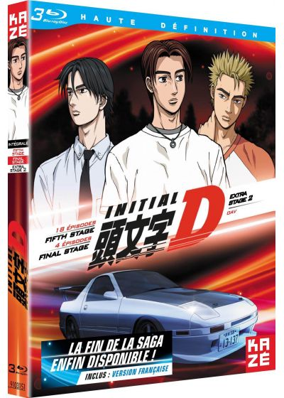 dvdfr initial d int grale extra stage 2 oav fifth final stage blu ray. Black Bedroom Furniture Sets. Home Design Ideas