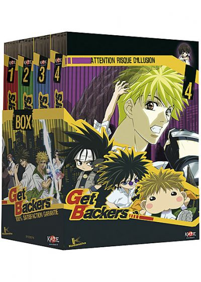 Get Backers - L'intégrale - DVD