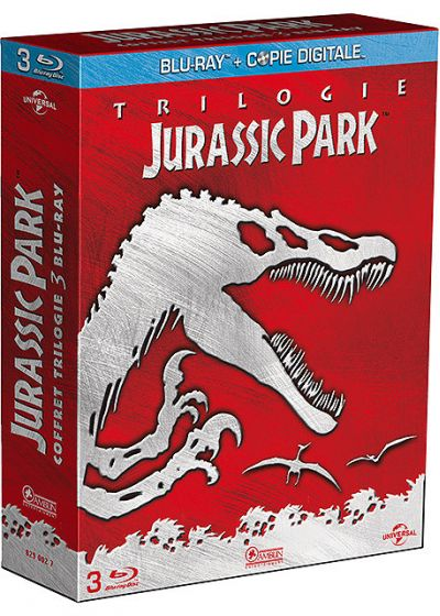 Jurassic Park Trilogie (Blu-ray + Copie digitale) - Blu-ray