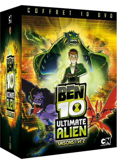 Ben 10 Ultimate Alien - Saisons 1 & 2 - DVD