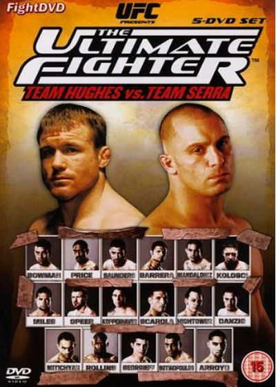 UFC : The Ultimate Fighter 6 - Team Hughes vs Team Serra - DVD