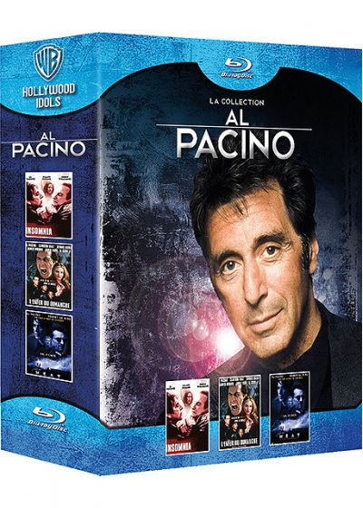 La Collection Al Pacino - Insomnia + L'enfer du dimanche + Heat (Pack) - Blu-ray