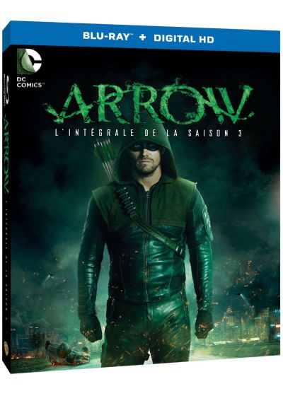 Arrow - Saison 3 (Blu-ray + Copie digitale) - Blu-ray