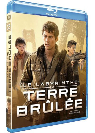 Le Labyrinthe : La Terre Brûlée (Blu-ray + Digital HD) - Blu-ray