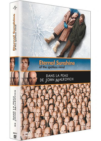Eternal Sunshine of the Spotless Mind + Dans la peau de John Malkovich (Pack) - DVD