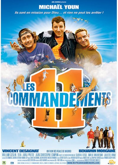 Les 11 Commandements (Édition Simple) - DVD