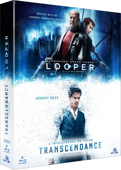 Transcendance + Looper (Pack) - Blu-ray