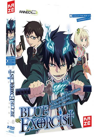 Blue Exorcist - Box 1/3 (Édition Collector) - DVD