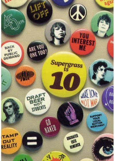 Supergrass - Supergrass is 10 - Best of 94-04 - DVD