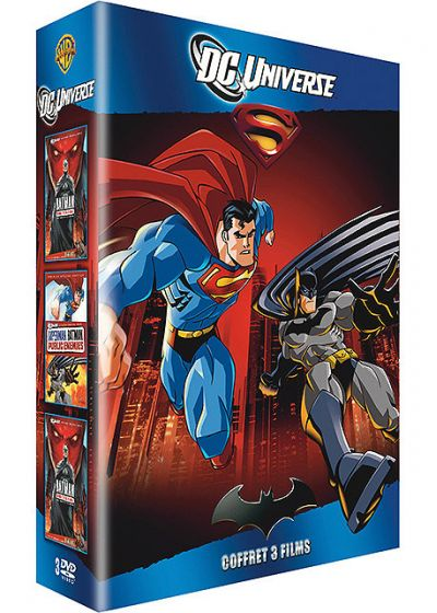 DC Universe - Coffret 3 films (Pack) - DVD