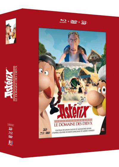 Astérix - Le Domaine des Dieux (Combo Blu-ray 3D + Blu-ray + DVD) - Blu-ray 3D