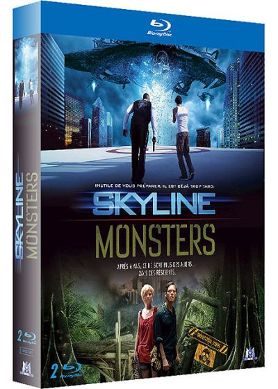 Skyline + Monsters (Pack) - Blu-ray