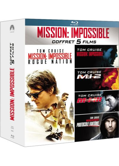 Mission : Impossible - L'intégrale des 5 films (Pack) - Blu-ray