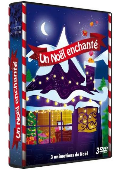 Un Noël enchanté - Coffret 3 DVD (Pack) - DVD