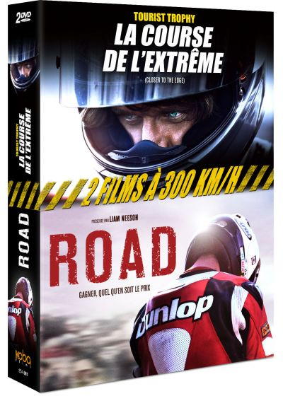 2 films à 300 km/h : Tourist Trophy : la course de l'extrême (Closer to the Edge) + Road (Pack) - DVD