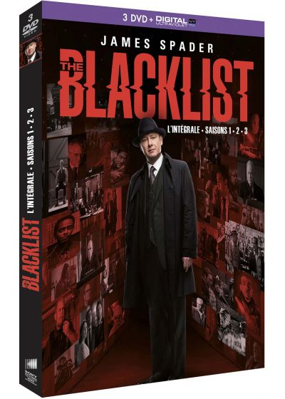 The Blacklist - Saisons 1 + 2 + 3 (DVD + Copie digitale) - DVD