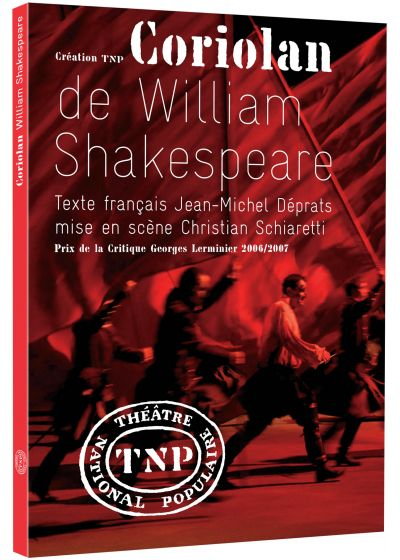 Coriolan de William Shakespeare - DVD