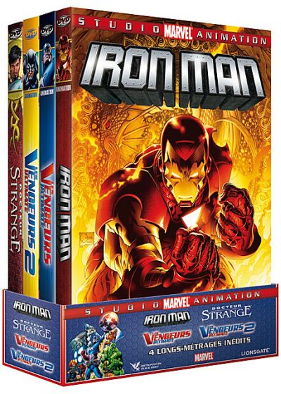 Studio Marvel Animation - Coffret 4 films (Pack) - DVD