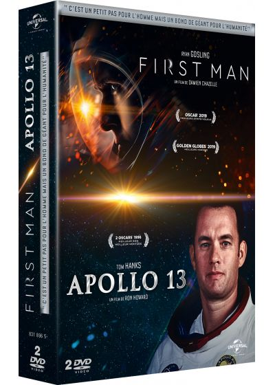 First Man + Apollo 13 (Pack) - DVD