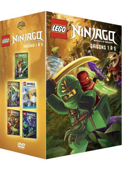Dvdfr lego ninjago les ma tres du spinjitzu saisons 1 - Lego ninjago saison 2 ...