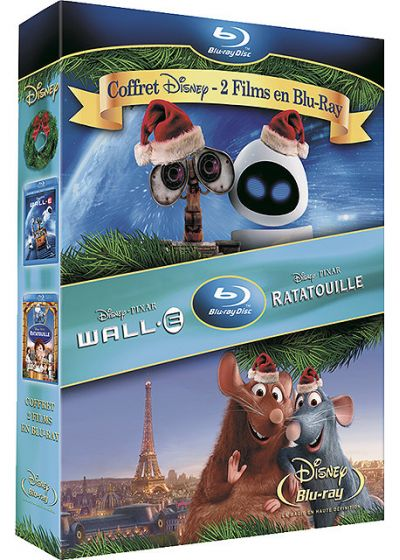 WALL-E + Ratatouille (Pack) - Blu-ray