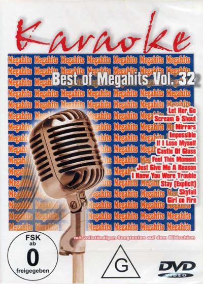 Karaoké - Best of Megahits Vol. 32 - DVD