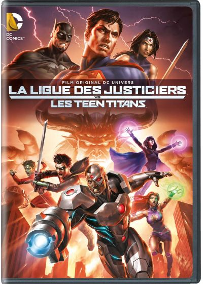 La Ligue des justiciers vs les Teen Titans - DVD