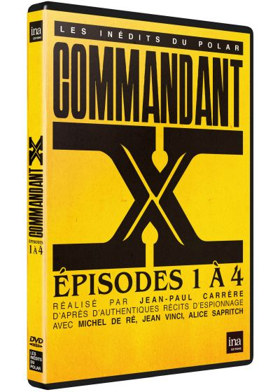 Commandant X : Episodes 1 à 4 - DVD