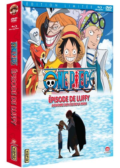 One Piece - Episode of Luffy : Aventure sur l'Ile de la Main (Combo Blu-ray + DVD - Édition Limitée) - Blu-ray