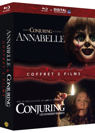 Annabelle + Conjuring : les dossiers Warren (Blu-ray + Copie digitale) - Blu-ray