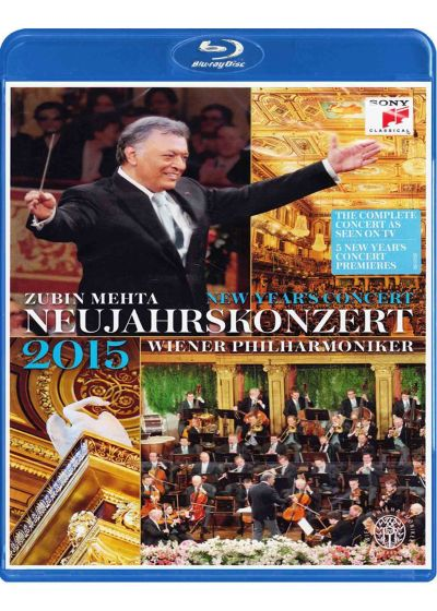 Concert du nouvel an 2015 - Blu-ray