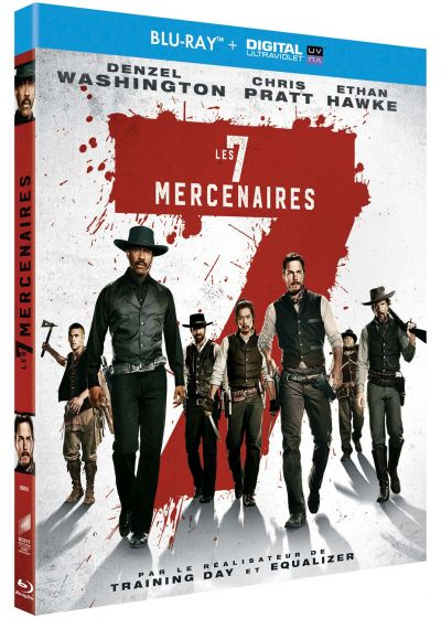 Les Sept mercenaires (Blu-ray + Copie digitale) - Blu-ray