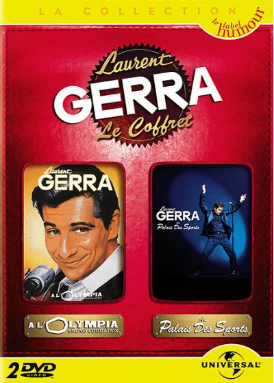 Laurent Gerra - Coffret - À l'Olympia 99 + Au Palais des Sports (Pack) - DVD
