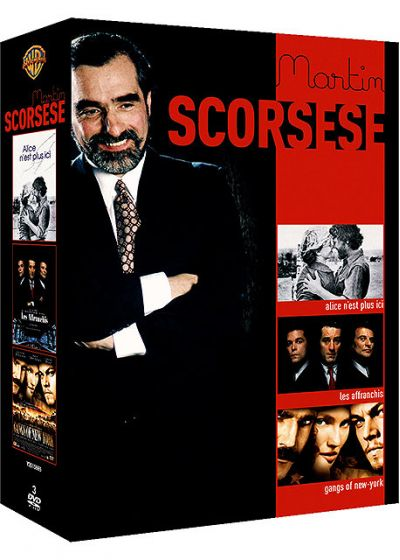 Martin Scorsese - Coffret - Alice n'est plus ici + Les affranchis + Gangs of New York (Pack) - DVD