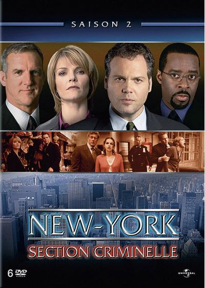 New York, section criminelle - Saison 2 - DVD