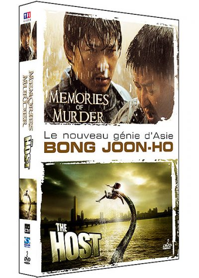 Bong Joon-ho : Memories of Murder + The Host (Pack) - DVD