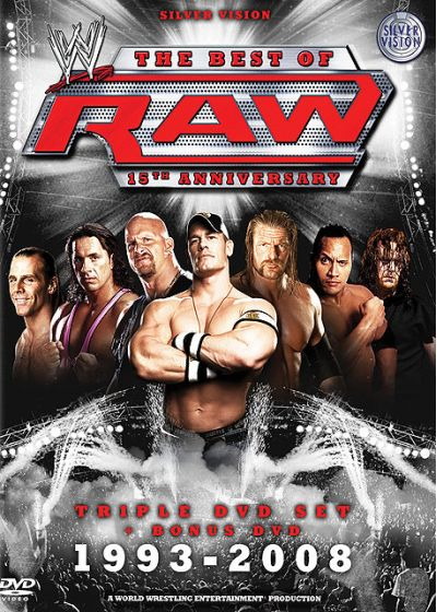 Best Of Raw - 15ème anniversaire - 1993 - 2008 - DVD