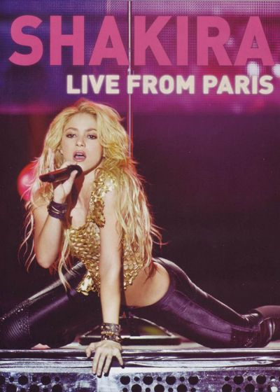 Shakira : Live from Paris - DVD