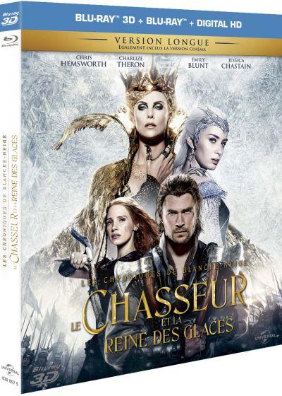 Dvdfr Le Chasseur Et La Reine Des Glaces Blu Ray 3d Blu Ray 2d Blu Ray 3d