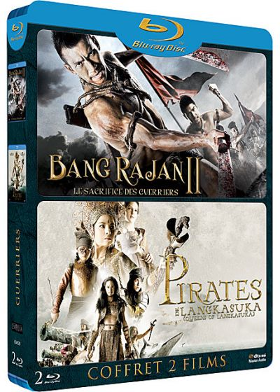 Guerriers : Bang Rajan II - Le sacrifice des guerriers + Pirates de Langkasuka (Pack) - Blu-ray