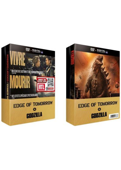 Edge of Tomorrow + Godzilla (Pack) - DVD