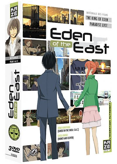 Eden of the East - Intégrale des Films : The King of Eden + Paradise Lost - DVD